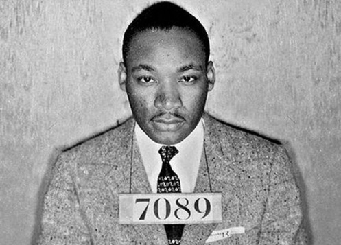 Martin Luther King Jr. As Prisoner