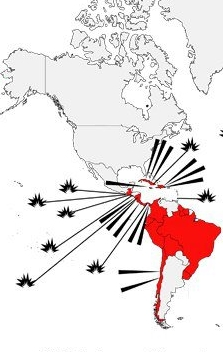 CIA interventions_latin america_since world war II