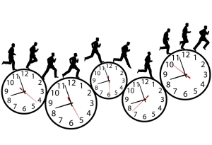 "Clocks have become the universal metonym for time. Even the notion of time ""running out"" uses a particular able-bodied ideal measured within a capitalist frame."